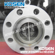 Stainless Steel Flange Dual Plate Check Valve
