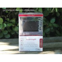 Boîte en plastique de banque de puissance de cadeau pour des produits électroniques (boîte d'emballage)