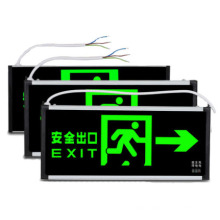 3w CE ROHS certified wall mounted best selling led exit emergency sign