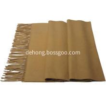 Plain dyed cashmere shawl