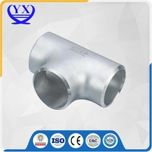 Ansi standards A234 WPB carbon steel pipe fitting tee