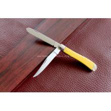 Couteau à double lame à poignée ABS (SE-0479)