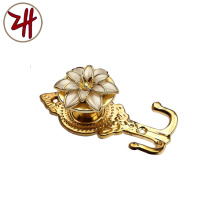 New Style Zinc Alloy Curtain Hook (ZH-8614)