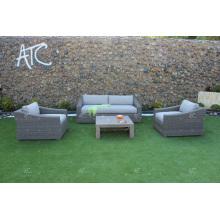COLLECTION ALAND - Ensembles de canapé en rotin en PE Wicker les plus vendus pour les meubles de jardin en plein air