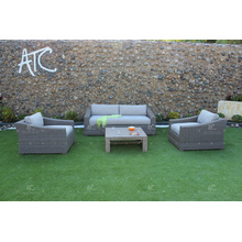 ALAND COLLECTION - Best selling PE Wicker synthetic rattan sofa sets for outdoor garden furniture