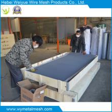 Malla de alambre de acero inoxidable recubierto de PVC para Winowscreen