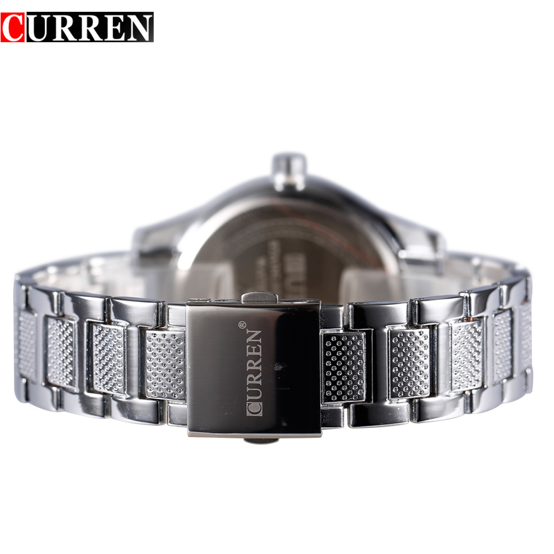 2017 Senior Stainless Steel Quartz Wristwatch Men