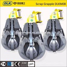 DLK Hydraulic Scrap Grab Orange Schalengreifer zum Verkauf