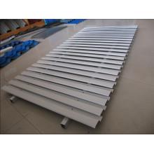 Stahl-Jalousie Tür Roll Umformmaschine