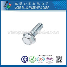Made in Taiwan High Quality M12 Stainless Steel Flange Bolts