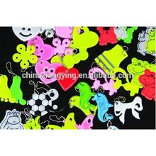 Lovely Soft PVC Key Chain Custom Reflective Key Chain