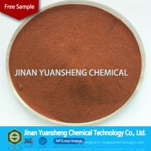 Poudre de Lignine de Lignine de Calcium jaune clair de liant d'engrais