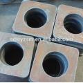 placa de metal del laser de la fibra del CNC de la alta calidad