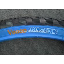 26 * 2.12 pneu de bicicleta de parede alta qualidade VGOOD azul de cor