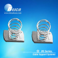 Hot Dip Galvanized Channel Nut with Long Spring M10