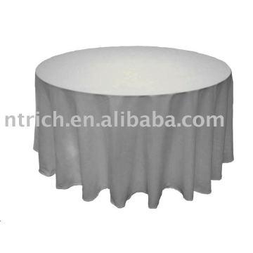 tissu de table d'hôtel, tissu de table de banquet, tissu de table de mariage, tissu de table de polyester