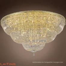 Hogar, hotel, club, restaurante, lámpara de techo de la lámpara del tamaño grande de la decoración del pasillo de la boda