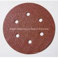 Disco de lijar Velcro óxido de aluminio