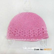 Sombrero de punto de invierno bebé sombrero de punto