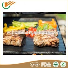 Custom size Reusable non-stick foos frade FDA LFGB Approval baking/ bbq sheet