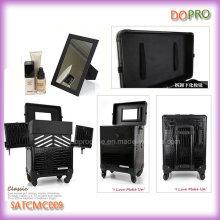 Boîte à outils à rouleaux large rangement pour maquillage (SATCMC009)