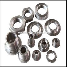 Não-padrão de peças de usinagem de aço inoxidável, cnc peças de alumínio de torneamento, cnc peças de latão de moagem