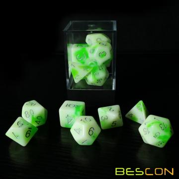 Bescon+Glowing+Polyhedral+RPG+Dice+Set+Luminous+Jade%2C+Bescon+Glow+in+Dark+Poly+Dice+Set+of+7%2C+DND+Role+Playing+Game+Dice