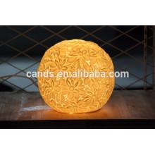 Lámpara de mesa de estudio de cerámica china