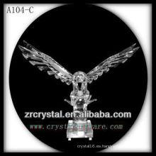 Bonita estatuilla de animales de cristal A104-C