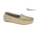 Women′s Moccasin Casual Driving Shoes Slip on Footwear