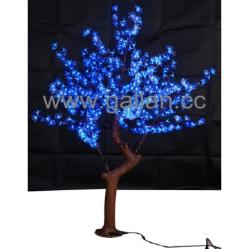 Cinco cores LED Artificial Cherry Blossom Tree 46W