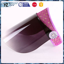 Latest product good quality men's sports visor hat made in china