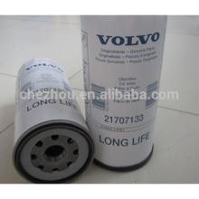 Filtro de combustible de aceite de motor de alta calidad 21707133 para camión