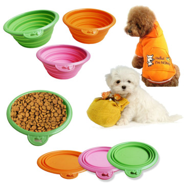 Eco-Friendly Silicone Pet Collapsible Bowl