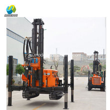 200m+Crawler+Type+Borehole+Water+Well+Drilling+Rig