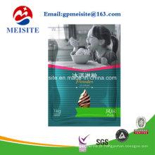 Saco de pó de gelado / saco de embalagem de plástico de café gelado