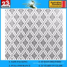3-6mm Am-60 dekorative Säure geätzter mattierter Kunst-Architekturspiegel