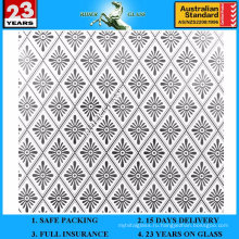 3-6мм АМ-60 декоративное Кисловочное Травленое матовое художественного архитектурного зеркало