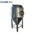 Ce Certification Double Jacket Stainless Fermentation Tank For Beer Fermenting