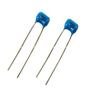 Silbernen Glimmer Kondensator Radial Typ (TMCM01)