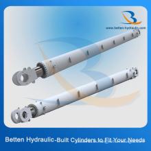 Cilindro hidráulico de trabajo pesado de 100 toneladas para vehículos de construcción