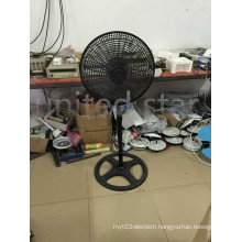 2015 New 18 Inch Plastic Grid PP Cover Standing Fan with CE GS RoHS EMC