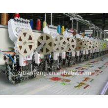Lentejuela doble 613/300 con la máquina del bordado del condensador de ajuste caliente para la venta