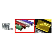 Película de poliéster de colores mate / Película de laminación de cartón