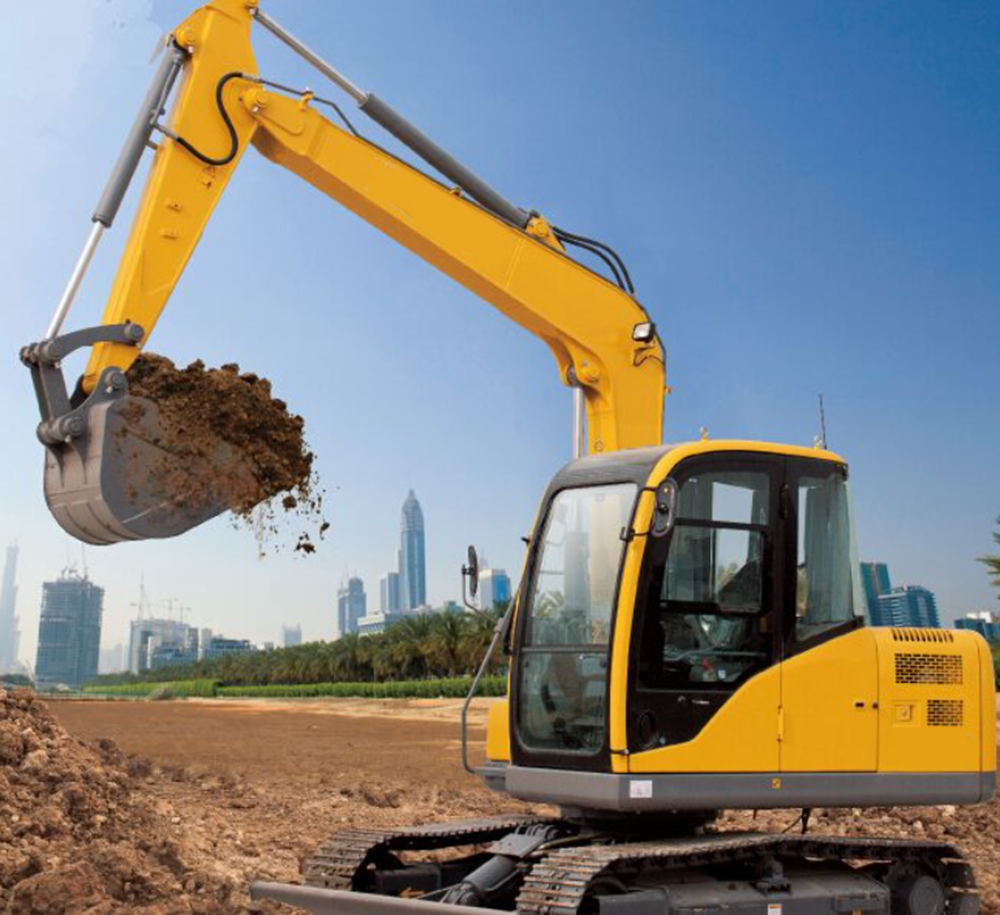 15 Ton High Efficient Crawler Excavator