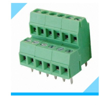 Factory Custom 5.0mm 5.08mm Pitch Double Row Terminal Block