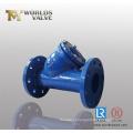 Extremidade flangeada Y tipo filtro filtro (GL41-10/16)