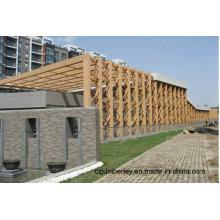 Pavilhão WPC Nova Geração Eco-Friendly