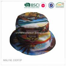 Reversible Full Printing Polyester Bucket Hat