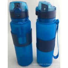 20 Унций Пищевого Силикона Складной Бутылки С Водой